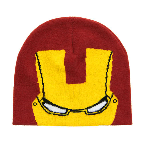 Iron Man Knit Beanie Hat