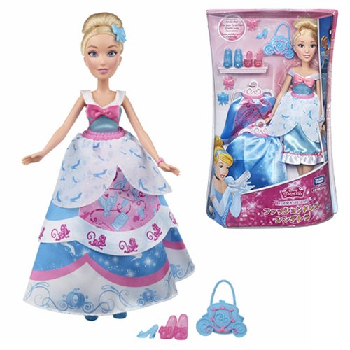 Disney Princess Layer N Style Cinderella Doll, Not Mint