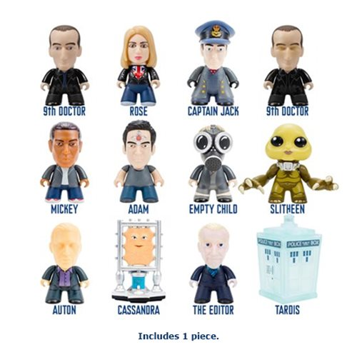 Doctor Who Titans 9th Doctor Fantastic Collection Random Mini-Figure
