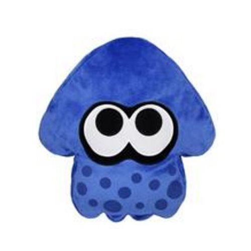 Splatoon Blue Squid Pillow Plush