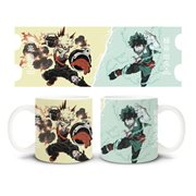 My Hero Academia Deku and Bakugo Mug