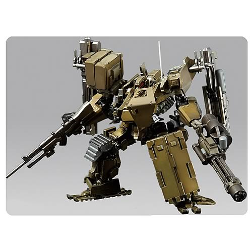 Armored Core V UCR-10/A Super Robot Chogokin Action Figure