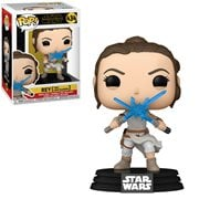 Star Wars: The Rise of Skywalker Rey with 2 Light Sabers Pop! Vinyl Figure