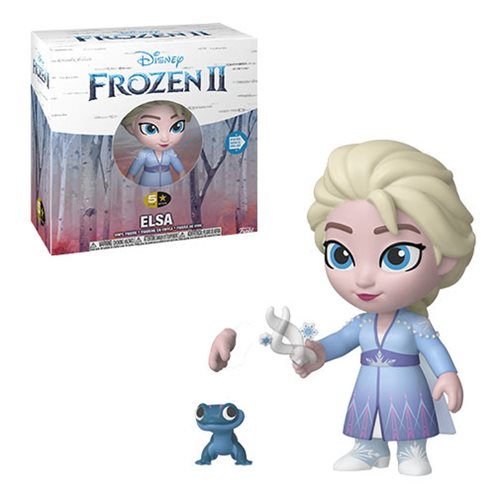 Frozen 2 Elsa 5 Star Vinyl Figure