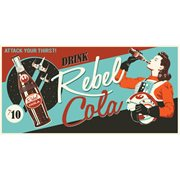 Star Wars Rebel Cola by Steve Thomas Gallery-Wrapped Canvas Giclee Art Print