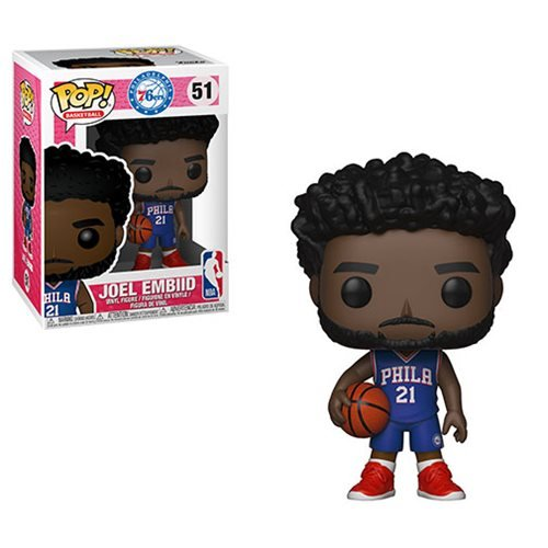 NBA Joel Embiid 76ers Pop! Vinyl Figure #51