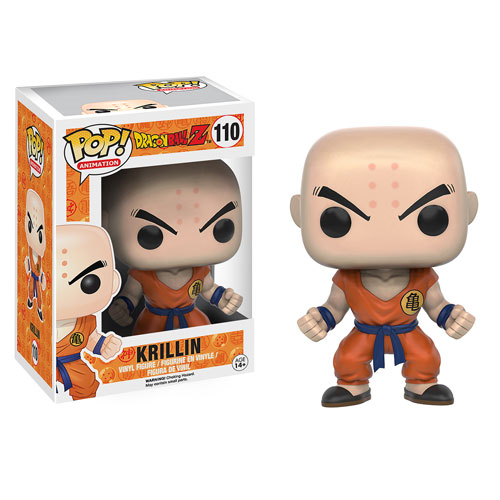 Dragon Ball Z Krillin Pop! Vinyl Figure, Not Mint