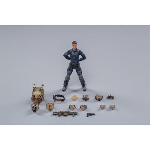 Joy Toy Starhawk 8th Army Indigo Fleet 1:18 Scale Action Figure 3-Pack
