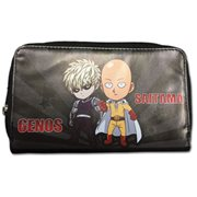 One Punch Man Saitama and Genos Wallet