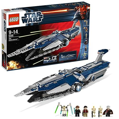 LEGO Star Wars 9515 Malevolence Separatist Battle Cruiser