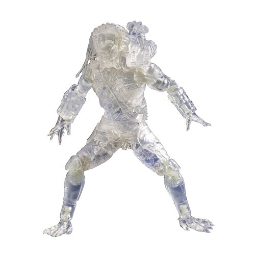 Predator Invisible Jungle Hunter 1:18 Scale Action Figure - Previews Exclusive