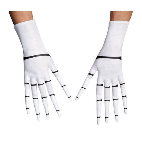 Nightmare Before Christmas Jack Skellington Adult Roleplay Gloves