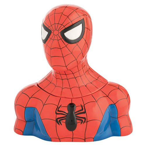 Spider-Man Sculpted Ceramic Cookie Jar