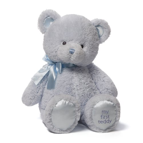 My 1st Teddy Bear Blue 24-Inch Plush