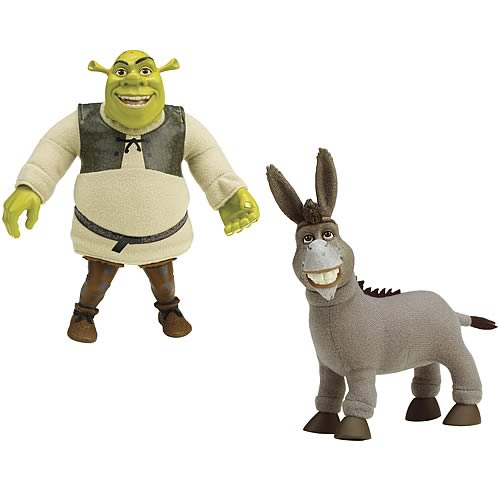 Shrek Forever After Smack Backs Roto Plush Wave 1 Case