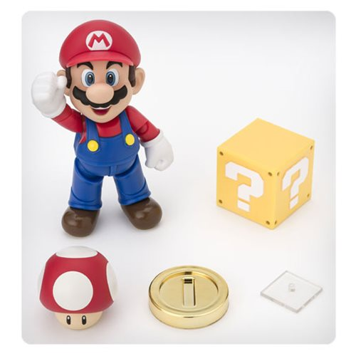 Super Mario Brothers Mario SH Figuarts Action Figure