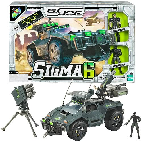 G.I. Joe Sigma 6 2.5-Inch Night Ops VAMP Vehicle