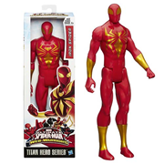 Spider-Man Titan Heroes Iron Spider Action Figure, Not Mint