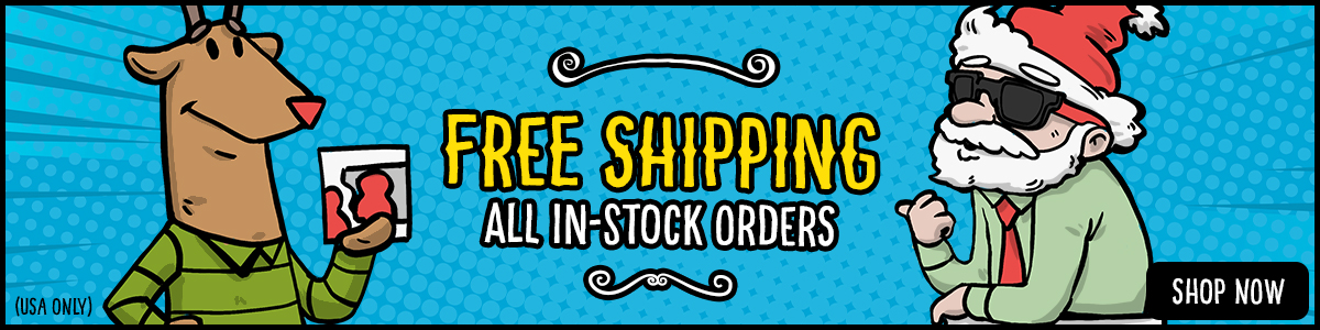 Free Shipping on All In-Stock Orders!