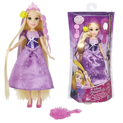 Disney Princess Rapunzel's Long Locks Hair Play Doll