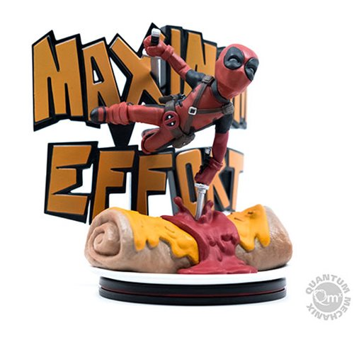 Deadpool Maximum Effort MAX Diorama Q-Fig