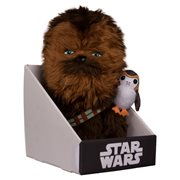 Star Wars: The Last Jedi Chewbacca with Porg 12-Inch Plush