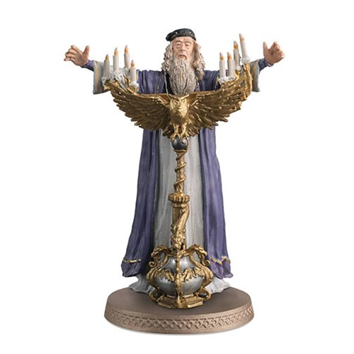 Harry Potter Wizarding World Collection Professor Dumblebore Figure with Collector Magazine #1