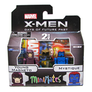X-Men Days of Future Past Series 58 Magneto and Mystique Minimates 2-Pack