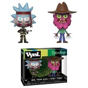 Rick and Morty Seal Rick and Scary Terry Vynl. Figure 2-Pack
