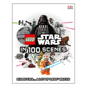 LEGO Star Wars in 100 Scenes Hardcover Book