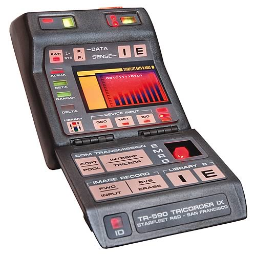 Star Trek Mark IX Science Tricorder Replica