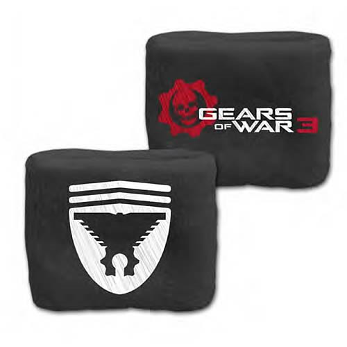 Gears Of War 3 Marcus Symbol And Logo Terrycloth Wristband