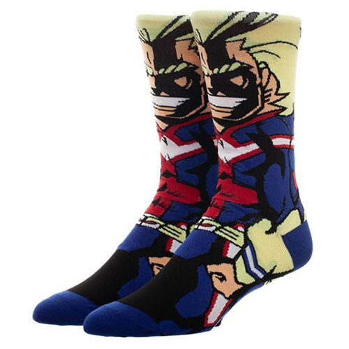 My Hero All Might 360 Character Socks