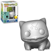 Pokemon Bulbasaur Metallic Silver Pop! Vinyl Figure