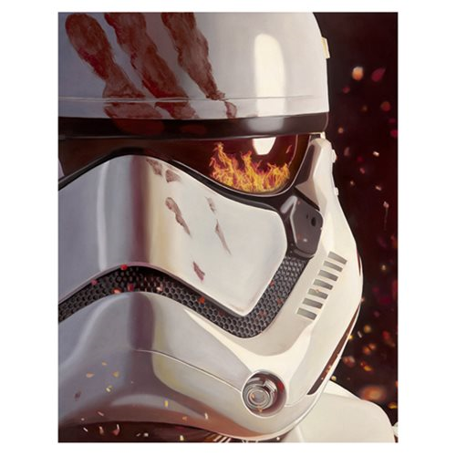 Star Wars: The Force Awakens FN-2187 Canvas Giclee Art Print