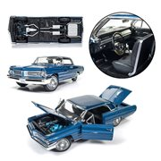 1962 Blue Pontiac Grand Prix 1:18 Scale Die-Cast Metal Vehicle