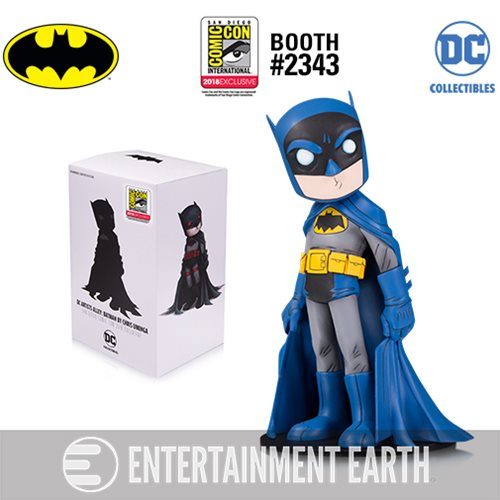 DC Collectibles' DC Artists Alley Batman by Chris Uminga Blue and Gray Variant Vinyl Figure - SDCC 2018 Exclusive