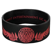 Twilight Breaking Dawn Team Jacob Leaves Rubber Bracelet