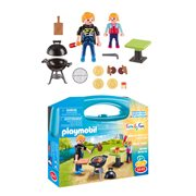 Playmobil 5649 Backyard Barbecue Carry Case