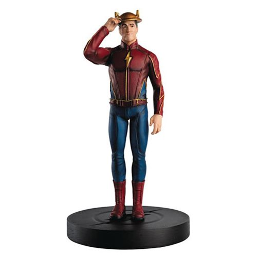 Flash TV Series Jay Garrick Figure with Collector Magazine #3