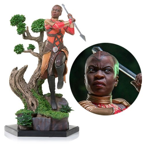 Black Panther Okoye Battle Diorama Series 1:10 Scale Statue
