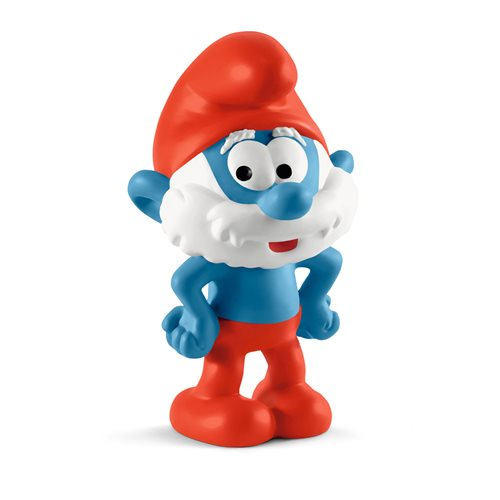 Smurfs Papa Smurf Collectible Figure