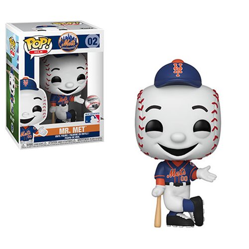 MLB New York Mets Mr. Met Pop! Vinyl Figure, Not Mint