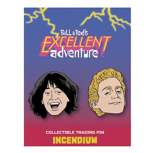 Bill & Ted's Excellent Adventure Bill and Ted Lapel Pin 2-Pack