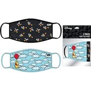 Mickey Mouse and Winnie the Pooh Women's 2-Pack Face Masks