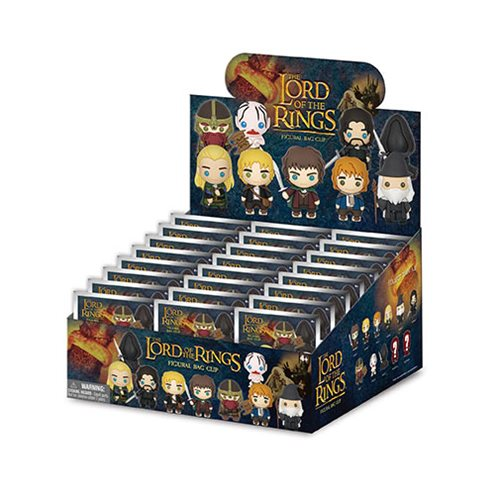 Lord of the Rings Figural Key Chain Random 6-Pack