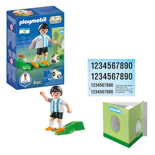 Playmobil 9508 Soccer National Team Player Argentina Action Figure