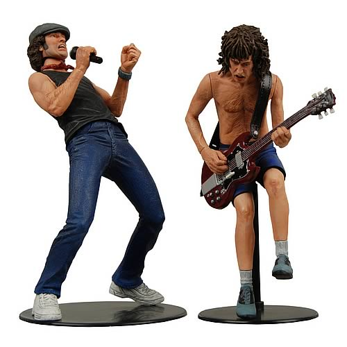 AC/DC Angus Young and Brian Johnson Action Figure 2-Pack