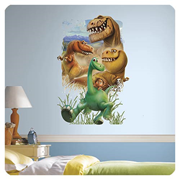 The Good Dinosaur Gang Peel and Stick Giant Wall Decals
