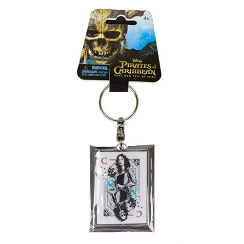 Pirates of the Caribbean: Dead Men Tell No Tales Carina Smyth Acrylic Key Chain